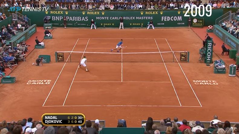 Un point superbe de chaque édition du Masters de Monte-Carlo de 1990 à 2018.