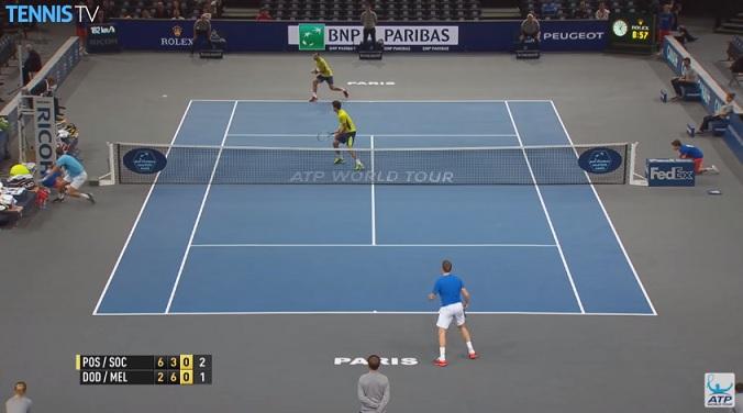 Un point de légende en finale du double au Masters 1000 de Paris.