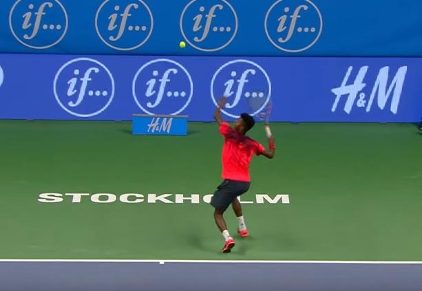 Mikael Ymer fait son entrée sur Tennis Legend.
