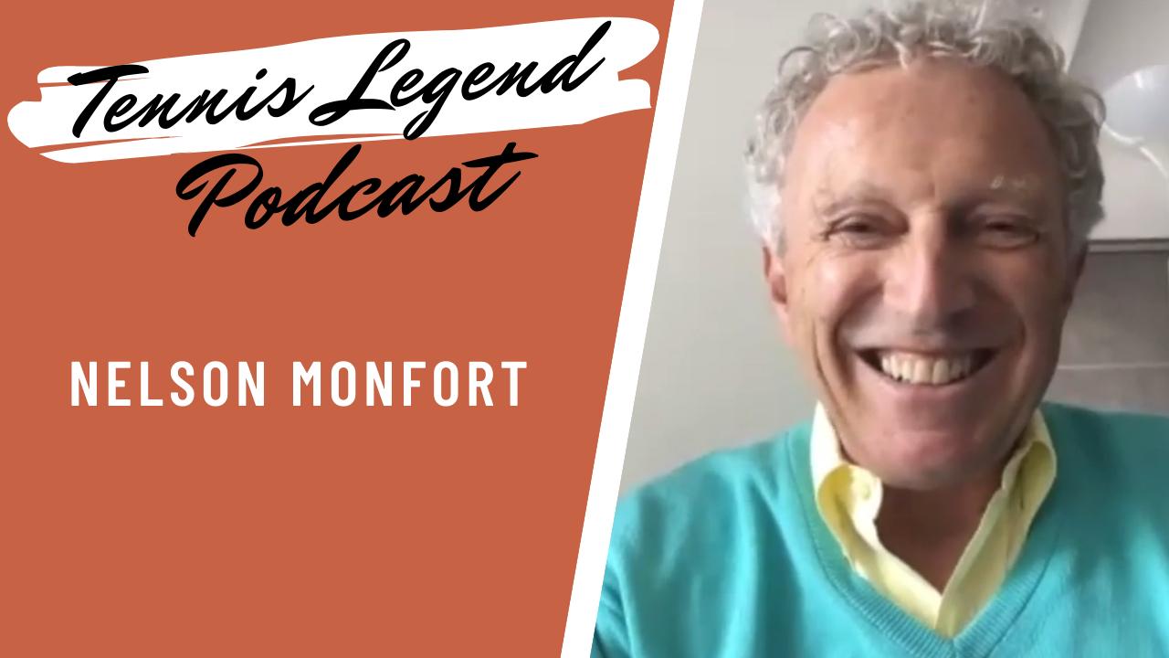 Nelson Monfort dans le Podcast Tennis Legend.