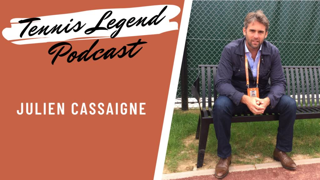 Julien Cassaigne, ancien pro et agent de Richard Gasquet.