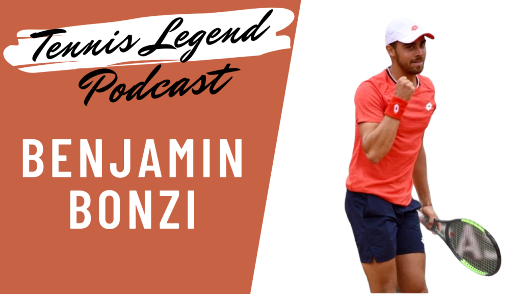 Benjamin Bonzi est l'invité du podcast Tennis Legend.