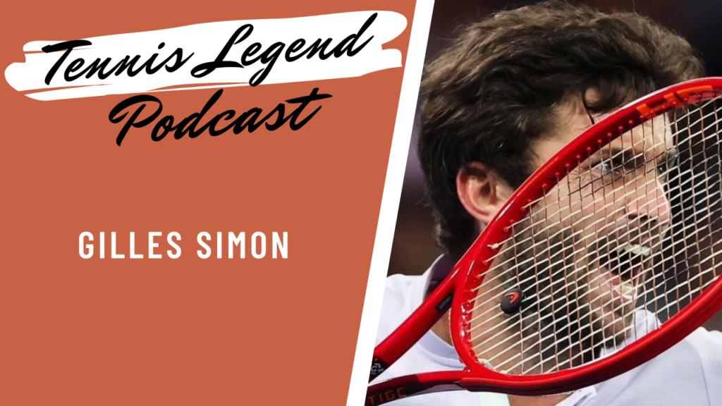 Un podcast de plus d'une heure avec Gilles Simon !