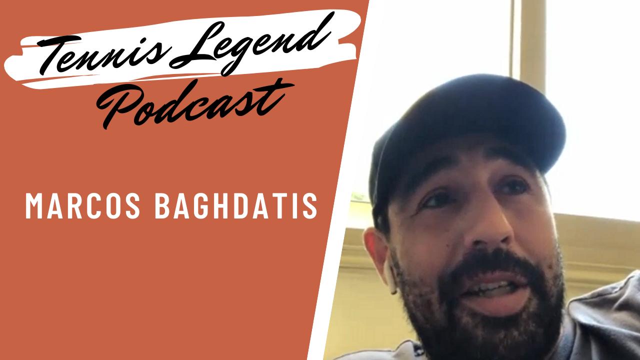 Marcos Baghdatis se livre dans le podcast Tennis Legend.