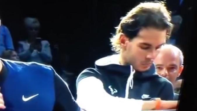 Rafa Nadal est nominé pour le moment insolite de l'année 2015.