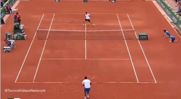Gaël Monfils et Victor Hanescu ont fait le spectacle au premier tour de Roland Garros.