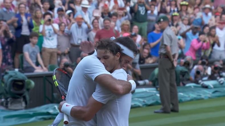 Un match de légende entre Rafael Nadal et Juan Martin Del Potro en quarts de finale de Wimbledon 2018.