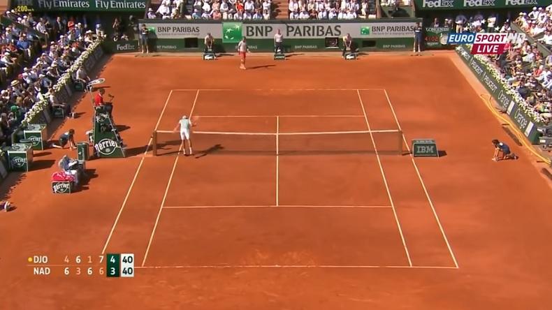 Ce moment dans le cinquième set est peut-être le tournant de ce match incroyable entre Nadal et Djokovic à Roland-Garros 2013.