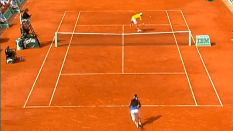 Nadal Mathieu Roland-Garros 2006
