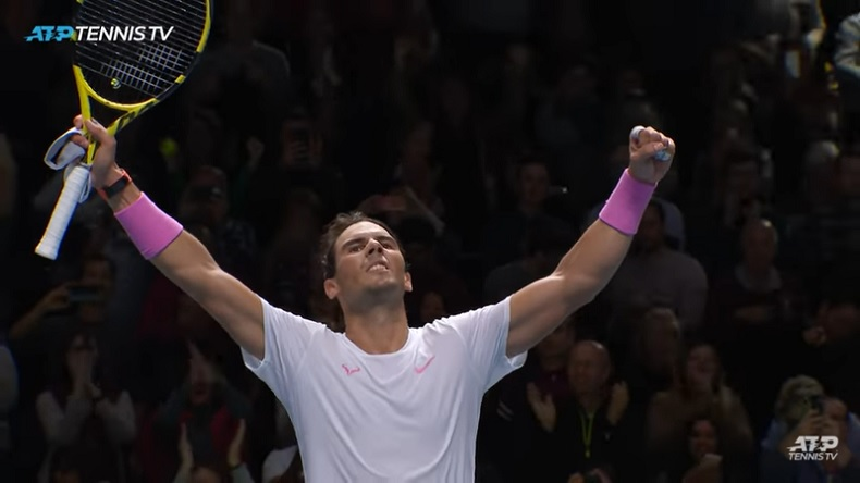 Mené 5-1, balle de match, Rafa Nadal a réussi un come-back impressionnant contre Daniil Medvedev au Masters 2019.
