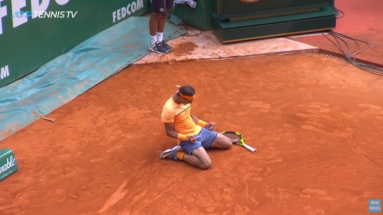 Rafael Nadal remporte son 9e titre à Monte-Carlo au terme d'une finale énorme contre Gaël Monfils.