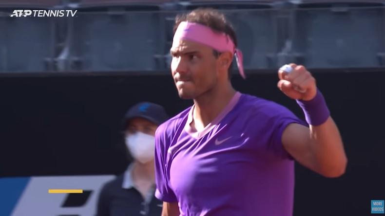 Rafael Nadal a encore été incroyable dans l'état d'esprit pour renverser Denis Shapovalov à Rome.