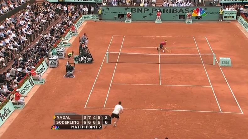 Nadal Söderling Roland-Garros 2009.