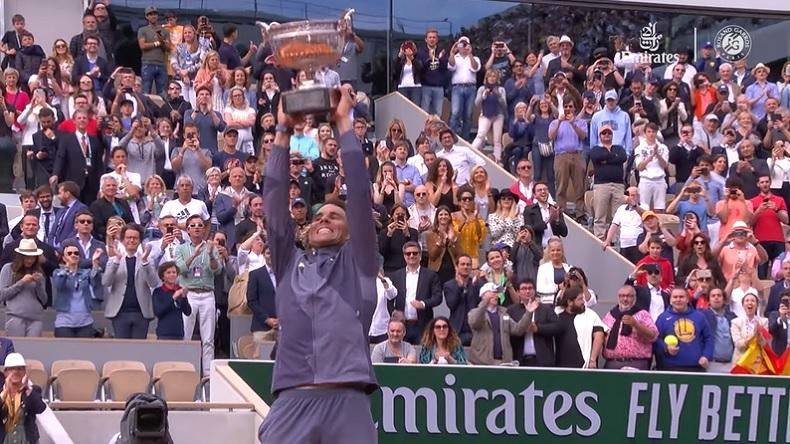 Le 12e Roland-Garros de Rafael Nadal.