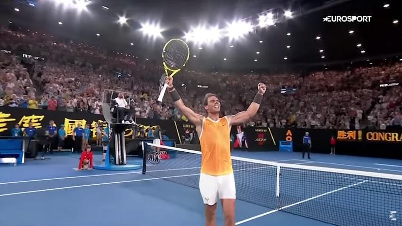 Rafael Nadal a évolué à un niveau incroyable pour écraser Stefanos Tsitsipas en demi-finales de l'Open d'Australie 2019.