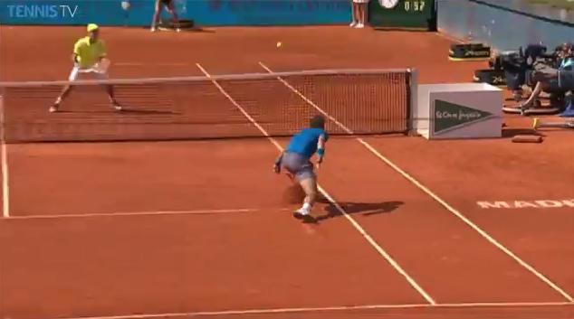 La défense de Nadal ou le rallye entre Ferrer et Nishikori  ? A vous de choisir.