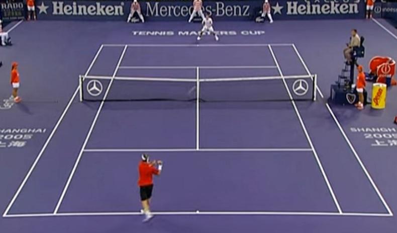 David Nalbandian avait prévu d'aller pêcher. Il a finalement remporté le Masters 2005 contre Roger Federer à l'issue d'une finale d'anthologie.