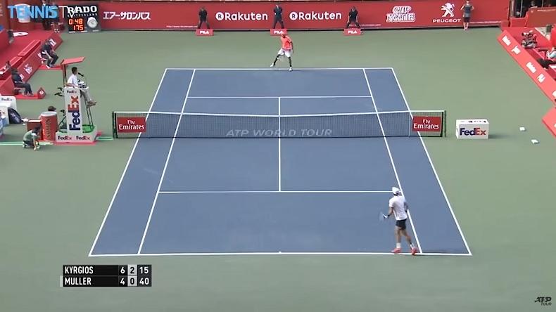 Les meilleurs de Nick Kyrgios sur les tournois ATP de 2010 à 2019.