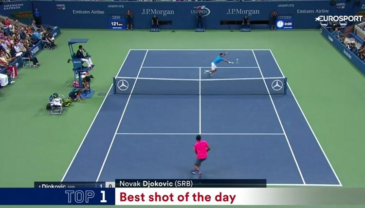 Novak Djokovic est en demi-finales de l'US Open, comme d'habitude depuis 10 ans.