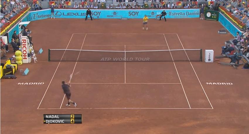 Novak Djokovic, le meilleur revers à deux mains