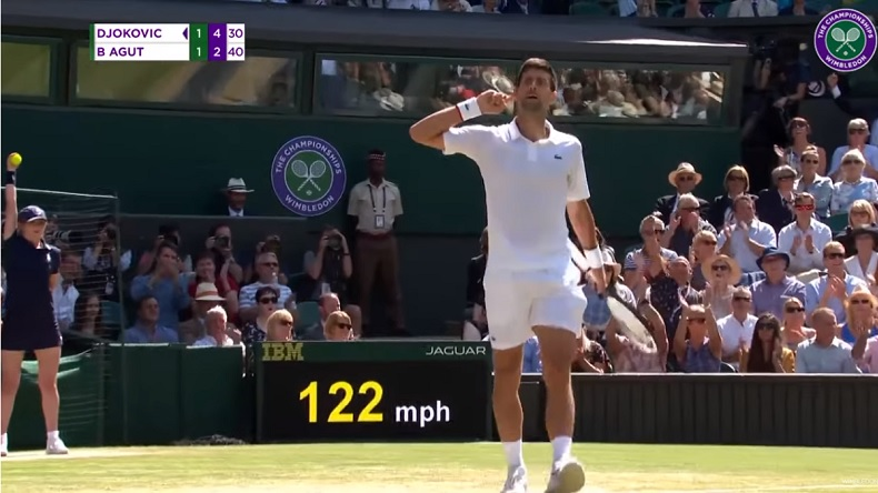 Le Top 10 des points de Novak Djokovic à Wimbledon 2019.