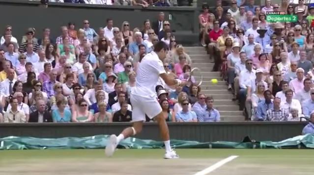 Novak Djokovic a fait des misères avec son revers lors de la saison 2011.