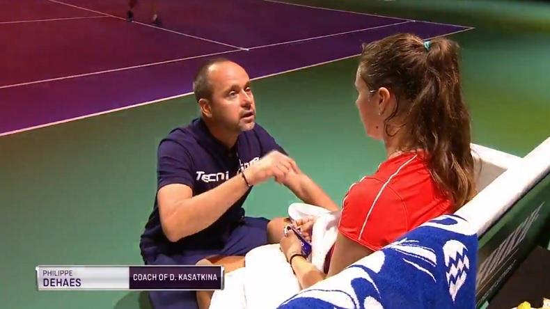 Le coaching de Philippe Dehaes avec Daria Kasatkina a encore fait des miracles en finale du tournoi de Moscou 2018.