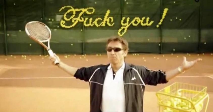 Certaines publicités avec des joueurs de tennis sont géniales !