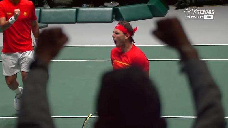 Rafael Nadal a qualifié presque à lui tout seul l'Espagne en finale de la Coupe Davis 2019.