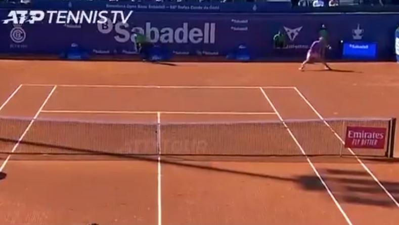 Un retour phénoménal de Rafael Nadal, en quarts de finale du tournoi de Barcelone 2021, contre Cameron Norrie.