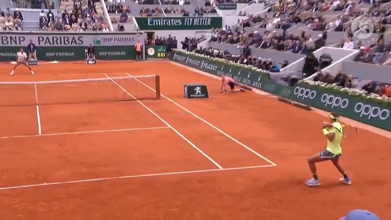 Rafael Nadal a été monstrueux en revers contre Federer.