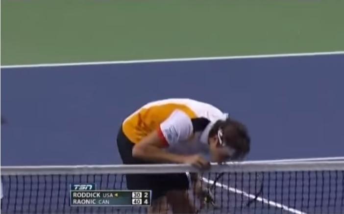 Andy Roddick et Milos Raonic