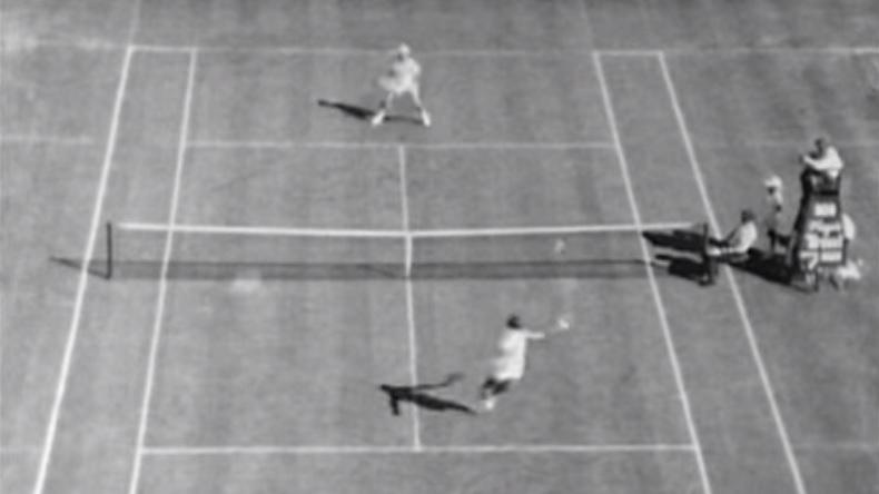 Le tennis d'un autre temps mais Rod Laver et Tony Roche sentaient bien la balle.