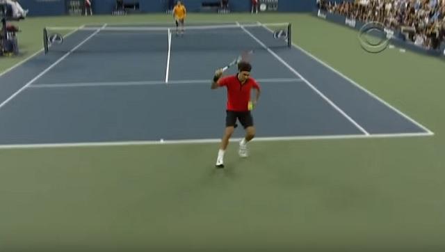 Les 100 plus beaux coups de Roger Federer.