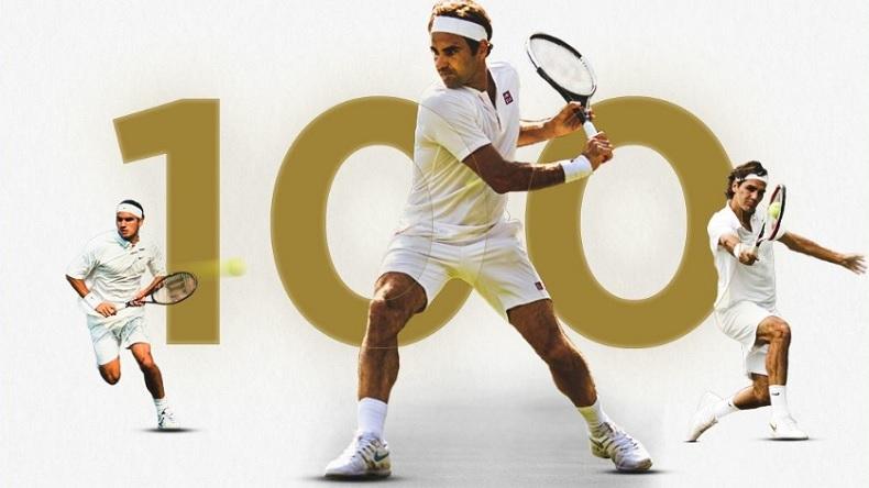 Les 100 victoires de Roger Federer à Wimbledon en vidéo.