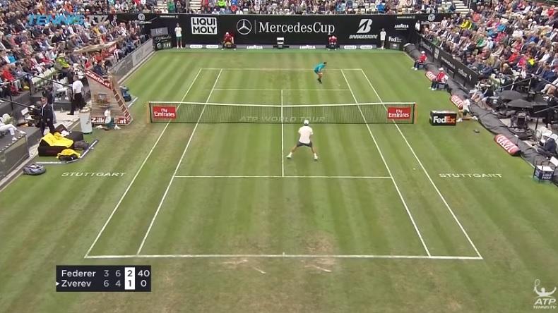 Le revers de Roger Federer est toujours en place, même après une coupure de trois mois.