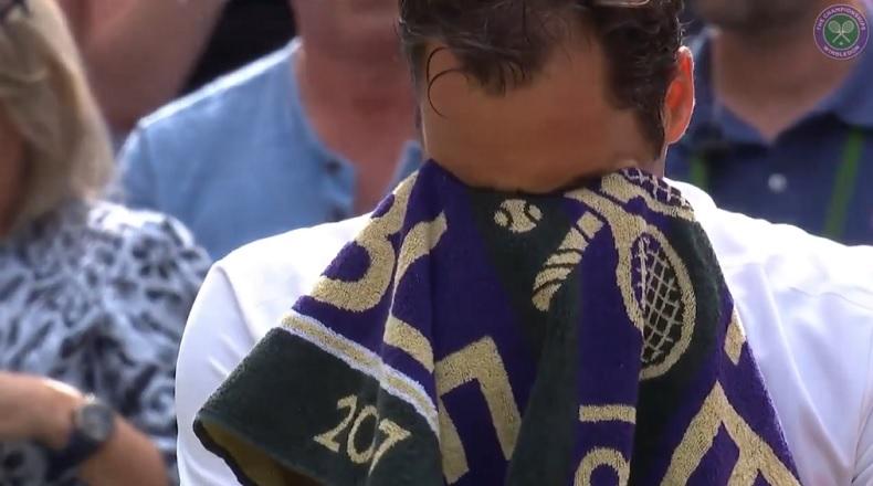 Les larmes de Roger Federer après son huitième sacre à Wimbledon en 2017