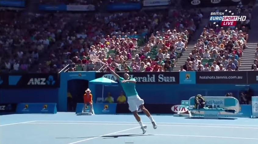 Une vidéo regroupant les meilleures inventions de Roger Federer.