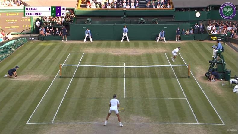 Les dix plus beaux points de Roger Federer à Wimbledon 2019.