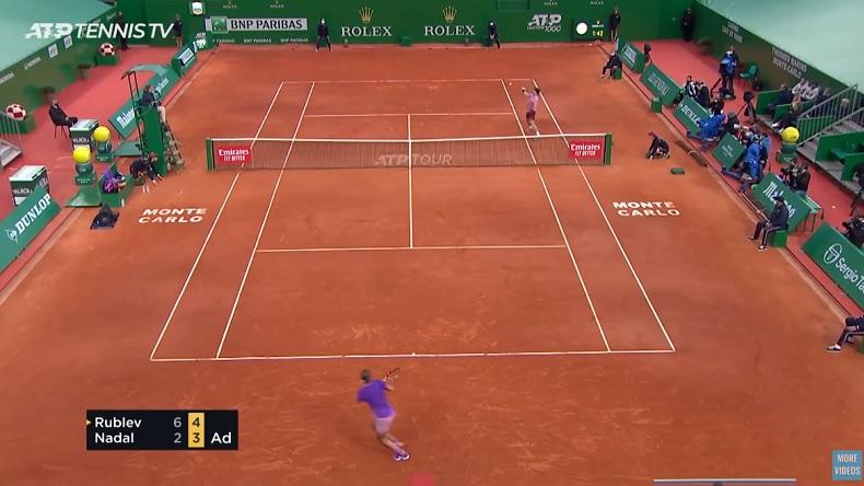 Andrey Rublev a été impressionnant contre Rafael Nadal à Monte-Carlo.