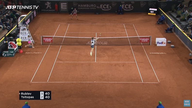 Quel match entre Rublev et Tsitsipas en finale à Hambourg.
