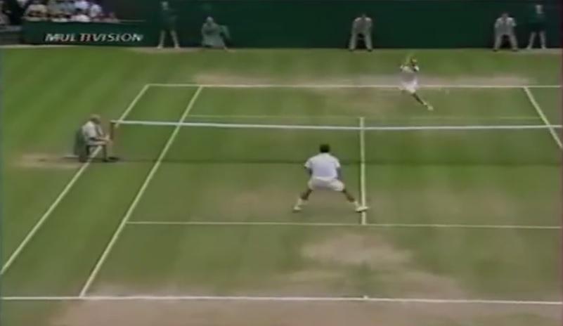 Pete Sampras a joué contre Andre Agassi en finale de Wimbledon 1999 le plus beau match de sa carrière probablement.