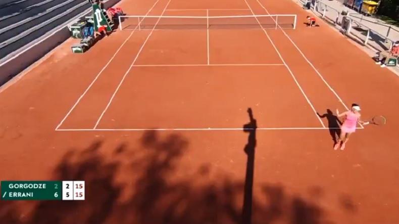 Le lancer de balle de Sara Errani au service a fini par énerver son adversaire à Roland-Garros.