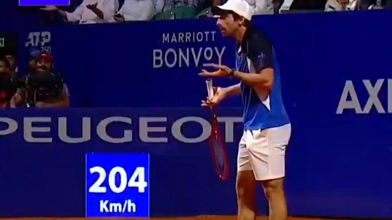 Pablo Cuevas et Diego Schwatzman ont fait un match de fou à Buenos Aires.