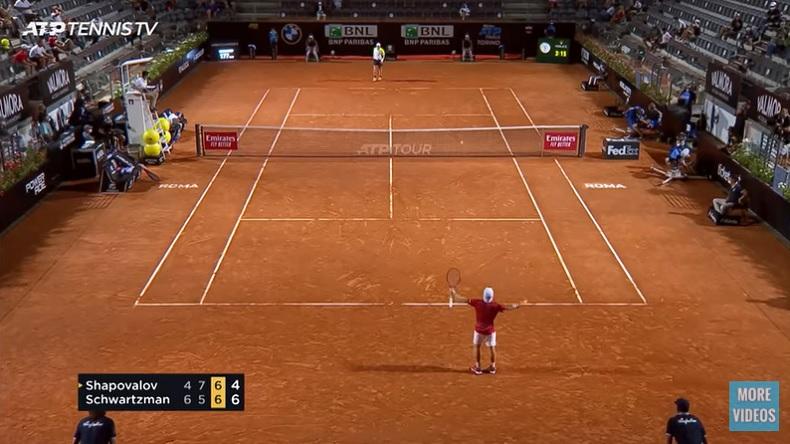 Diego Schwartzman a remporté un combat épique contre Denis Shapovalov en demi-finales du Masters de Rome 2020.