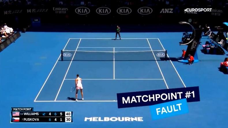 Un scénario complètement fou a permis à Karolina Pliskova d'éliminer Serena Williams à l'Open d'Australie 2019.