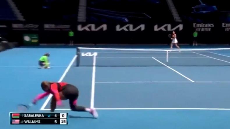 Deux défenses énormes de Serena Williams à l'Open d'Australie 2021.