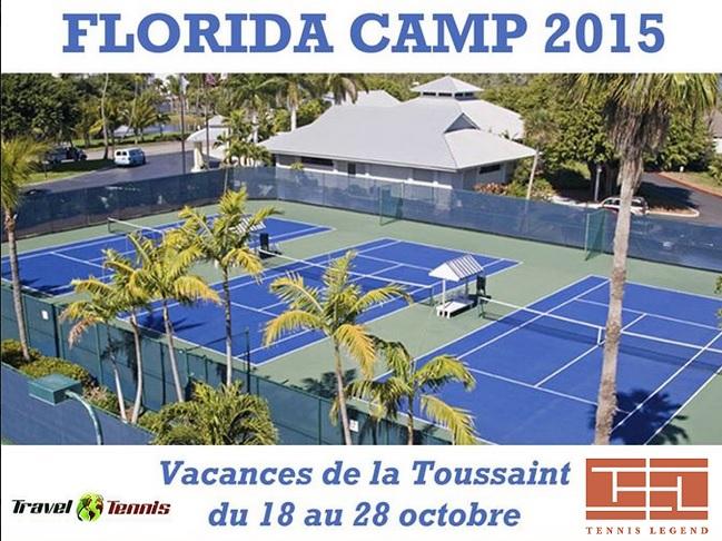 Tennis Legend s'associe avec Travel Tennis et vous propose un stage tennis et anglais en Floride.