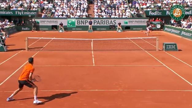Ce revers de Stan Wawrinka en finale de Roland Garros est un des coups de l'année.