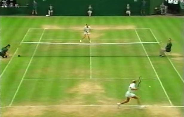 Steffi Graf avait une vitesse de déplacement impressionnante.